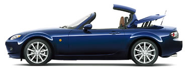 Mazda Roadster Power Retractable Hardtop