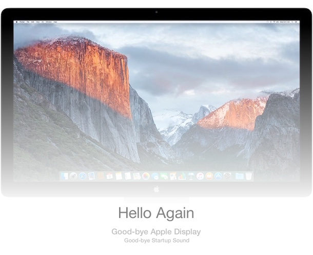 Good-bye Apple Display