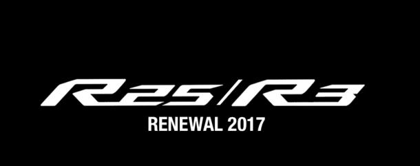 YAMAHA YZF-R25/R3 RENEWAL 2017